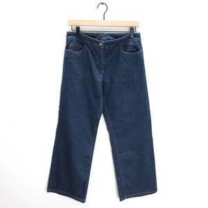 Eileen Fisher Straight Leg Cropped Jeans